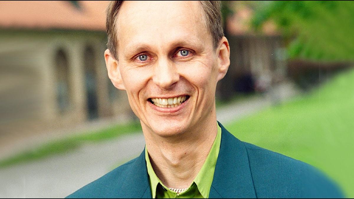 Mikael Niemi 2001. Foto: Sveriges Radio