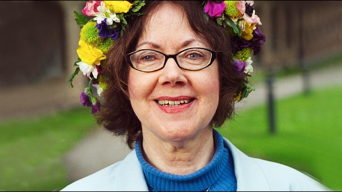 Eva Moberg. Foto: Sveriges Radio