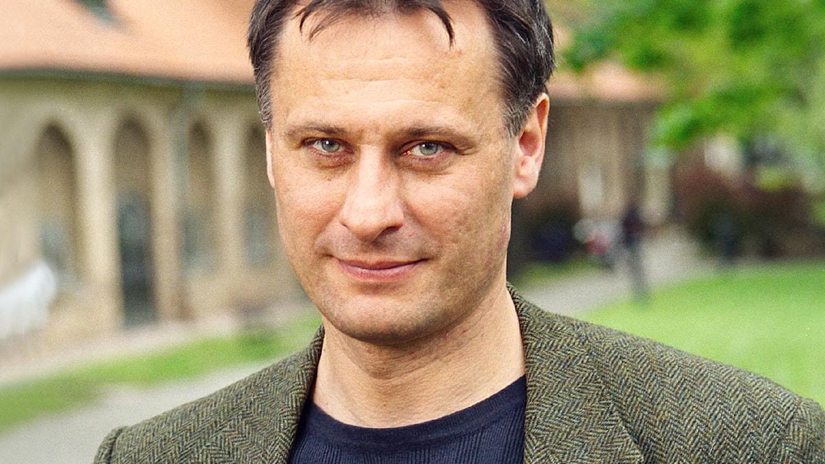 Michael Nyqvist 2001. Foto: Sveriges Radio.