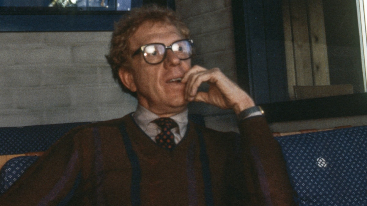 Tage Danielsson 1983. Foto: Sveriges Radio