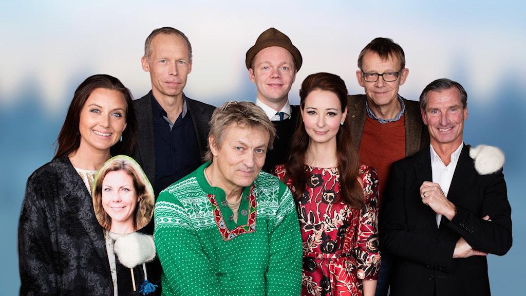 Vintervärdarna 2015/16. Foto: Mattias Ahlm /Sveriges Radio
