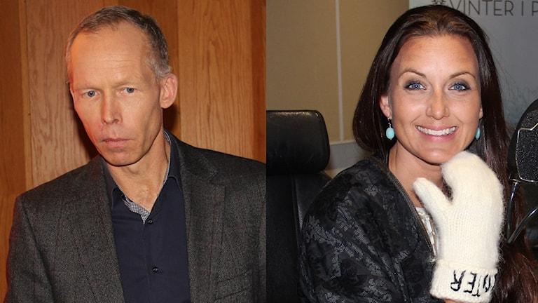 Johan Rockström och Sanna Lundell blev intervjuade i P4 Extra.