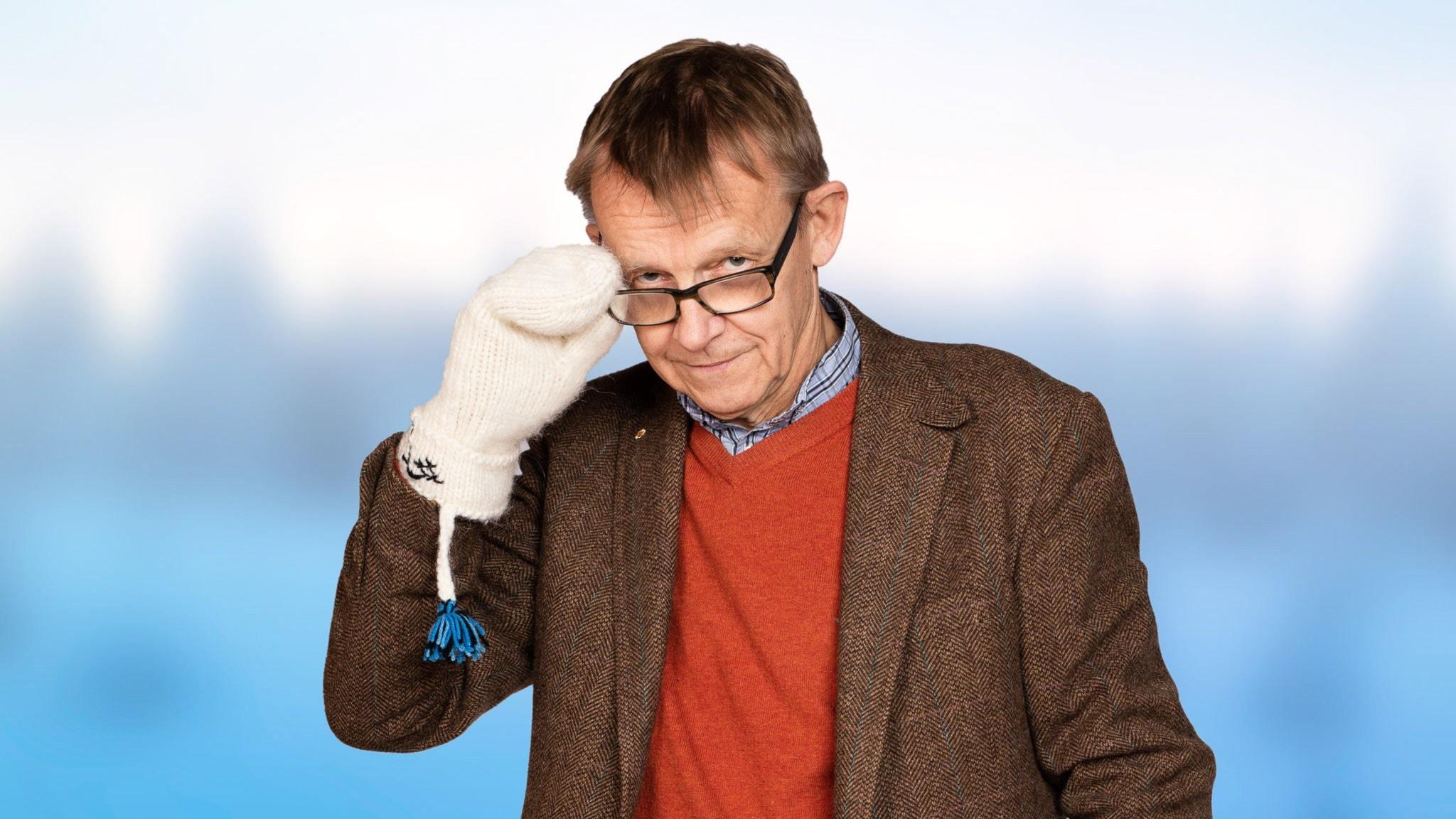 Hans Rosling. Foto: Mattias Ahlm /Sveriges Radio