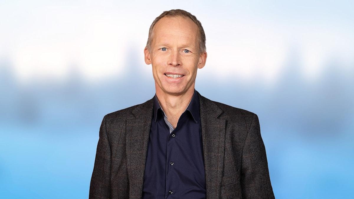 Johan Rockström. Foto: Mattias Ahlm /Sveriges Radio