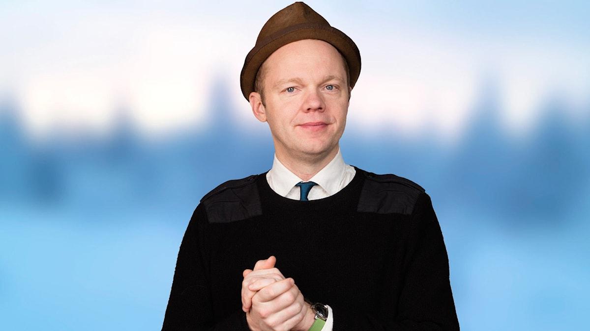 Olof Wretling. Foto: Mattias Ahlm /Sveriges Radio