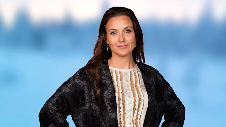 Sanna Lundell. Foto: Mattias Ahlm /Sveriges Radio