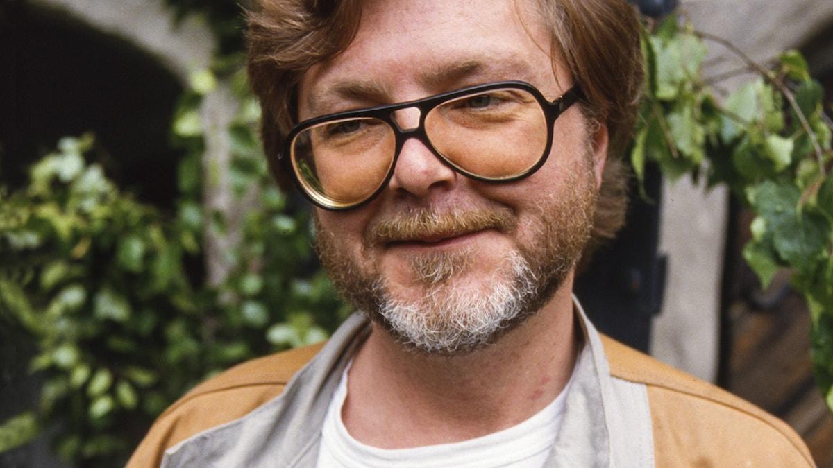Michael B. Tretow 1986. Foto: SVT Arkiv