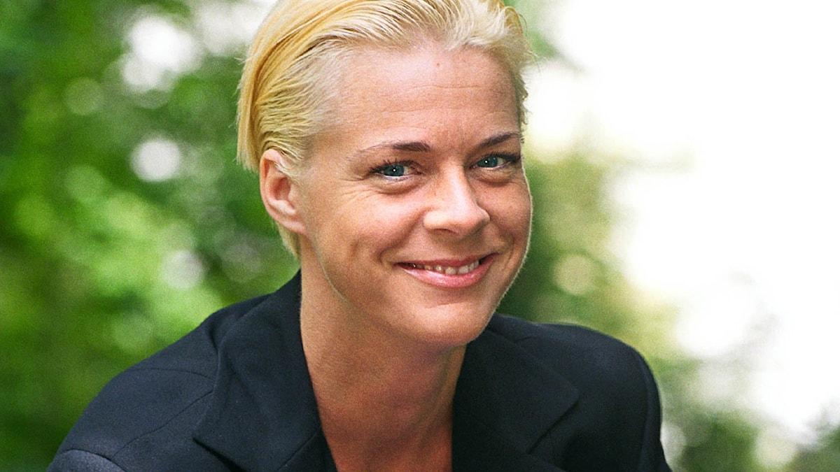 Malena Ernman 2000. Foto: Sveriges Radio