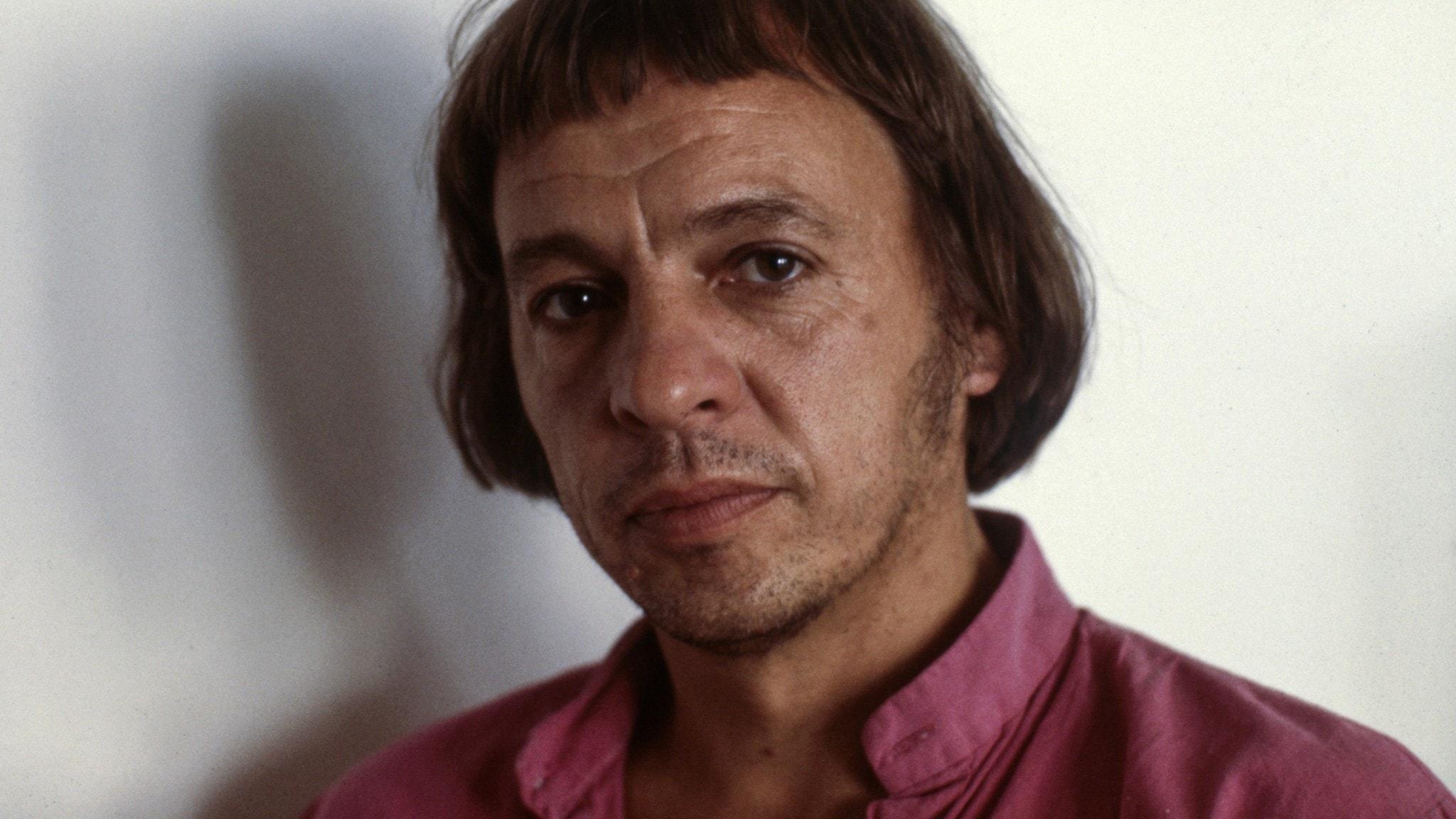 Göran Tunström, bild från 1982.
