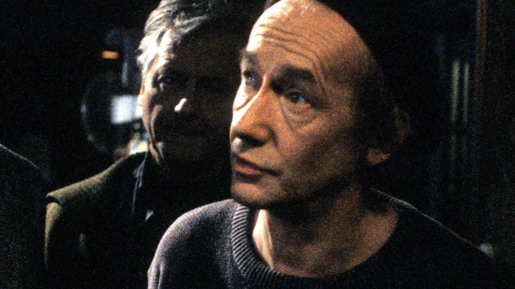 Gösta Ekman 1991 från inspelningen av TV-serien Duo jag av Marie-Louise Ekman.