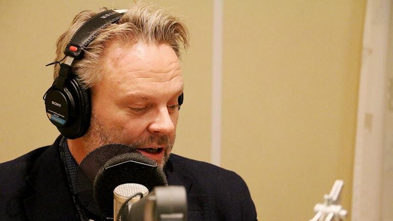 Tommy Ivarsson i studion