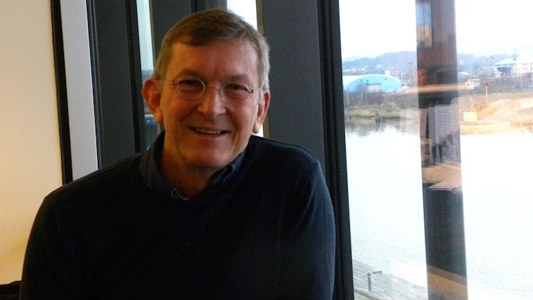 Tomas Sjödin i kanalhuset i Göteborg.