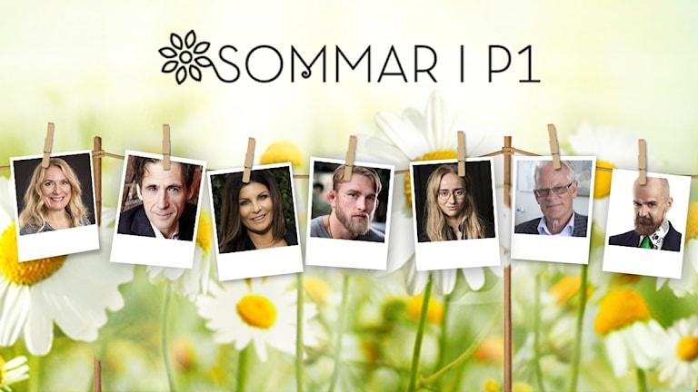 OBS EMBARGO 13.15!! Klädstreck tvättlina Sommar i P1 2016