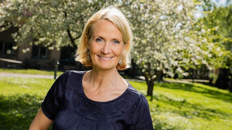Bibi Rödöö. Foto: Mattias Ahlm/Sveriges Radio.