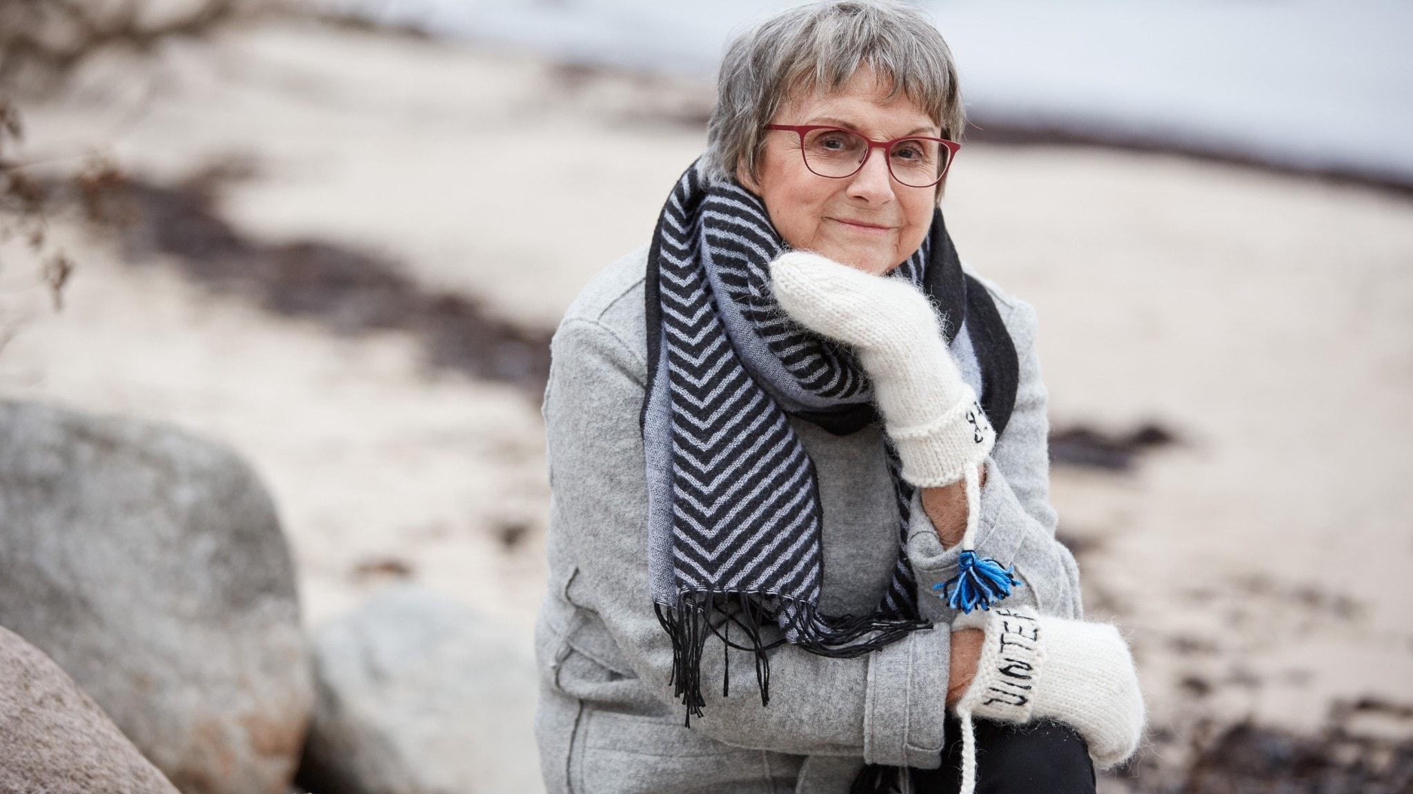 Författaren och psykologen Patricia Tudor-Sandahl är en av årets värdar i Vinter i P1.