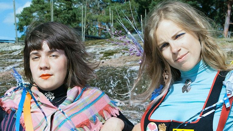 Sara Parkman och Samantha Ohlanders.
