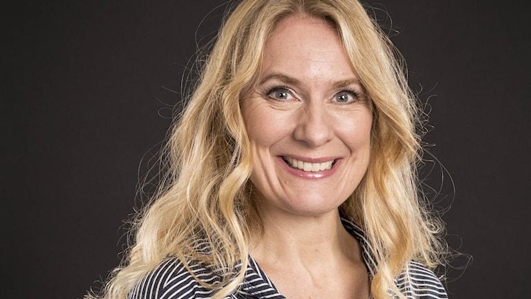 Annika Lantz. Foto: Micke Grönberg/Sveriges Radio