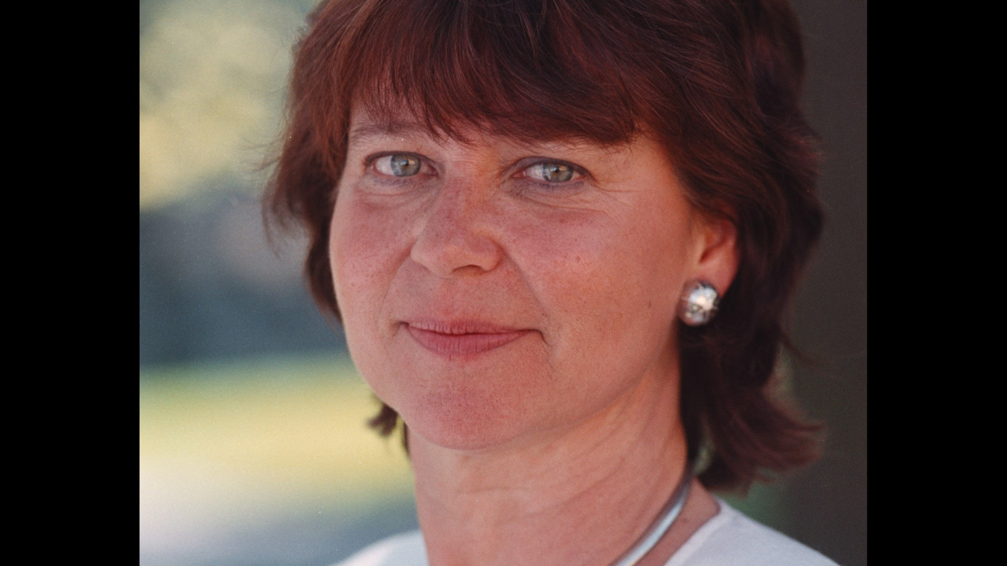 Karin Johannisson, Sommar 1999.