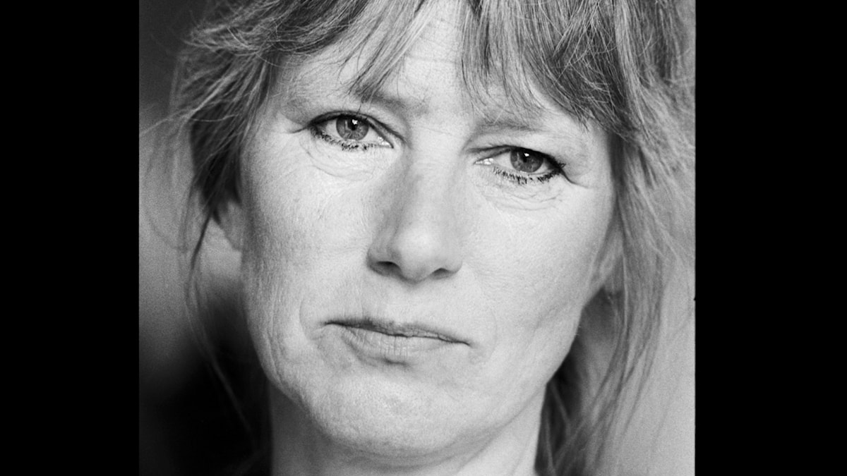 Jujja Wieslander 1989. Foto: Sveriges Radio