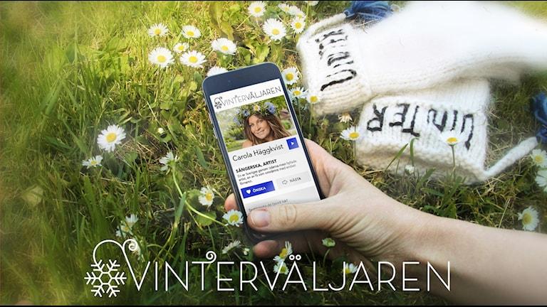 Vinterväljaren Carola Häggkvist