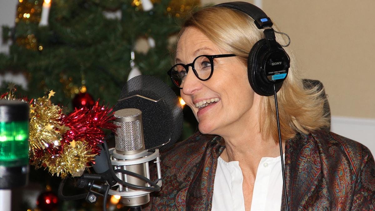 Bibi Rödöö var programledare under direktsändningen.