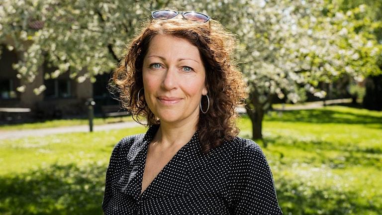 Elisabeth Åsbrink. Foto: Mattias Ahlm/Sveriges Radio.