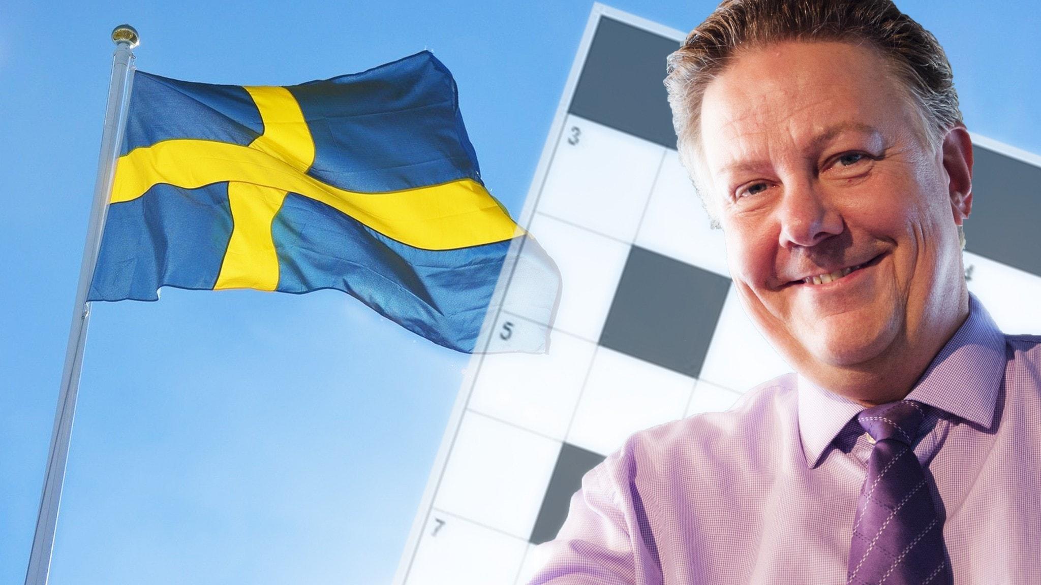 Fira Nationaldagen 6 juni med Melodikrysset och Anders Eldeman Foto Alexander Donka Sveriges Radio