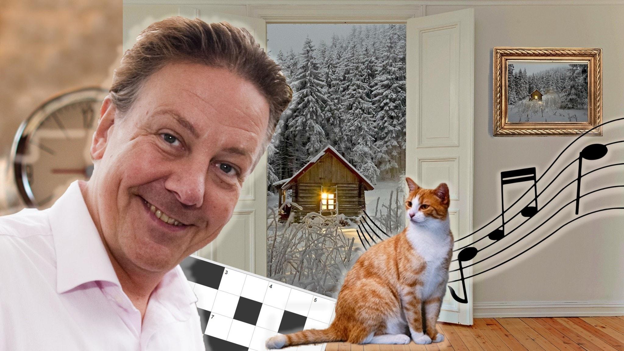 Melodikrysset vecka 46 – ett musikaliskt korsord med Anders Eldeman