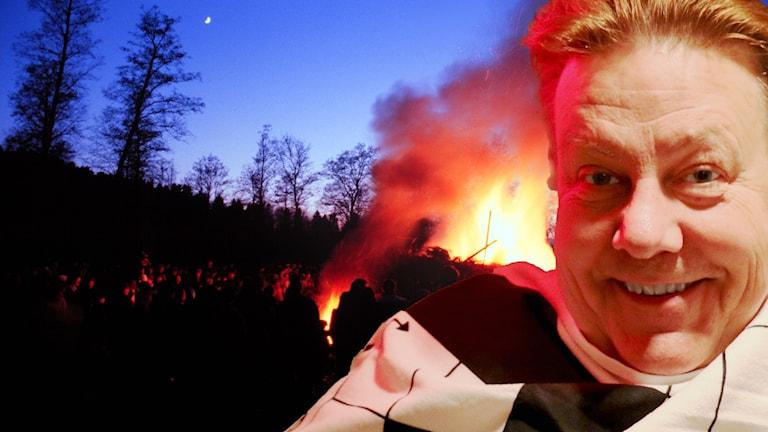 Melodikryssets programledare Anders Eldeman önskar alla melodikryssare en trevlig Valborgsmässoafton.