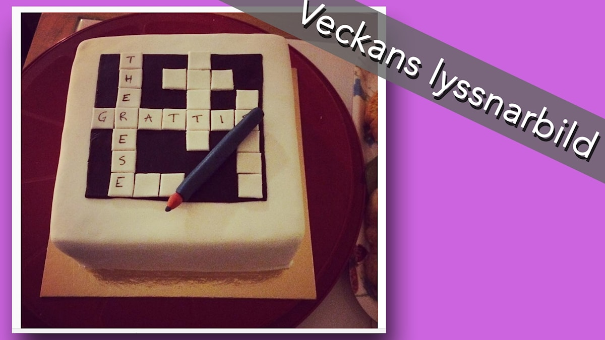 Veckans lyssnarkryssarbild kommer från instagramanvändaren @twohundredmiles: Bästa tårtan EVER! Så tjuvstartar man firandet av en Nilsson ordentligt. Tårtmakare; Jenny Kock-Larsen.