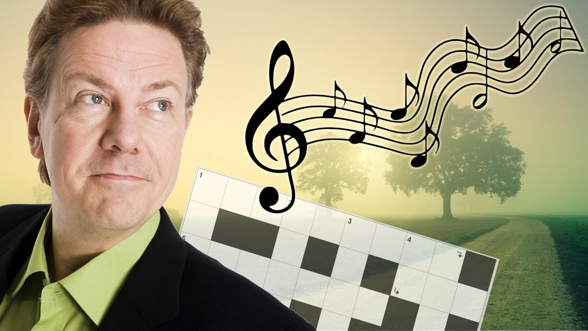 Melodikrysset vecka 44 - ett musikaliskt korsord med Anders Eldeman