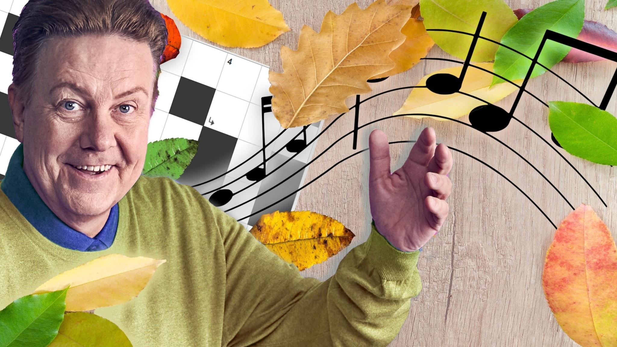 Melodikrysset vecka 45 – ett musikaliskt korsord med Anders Eldeman - spela