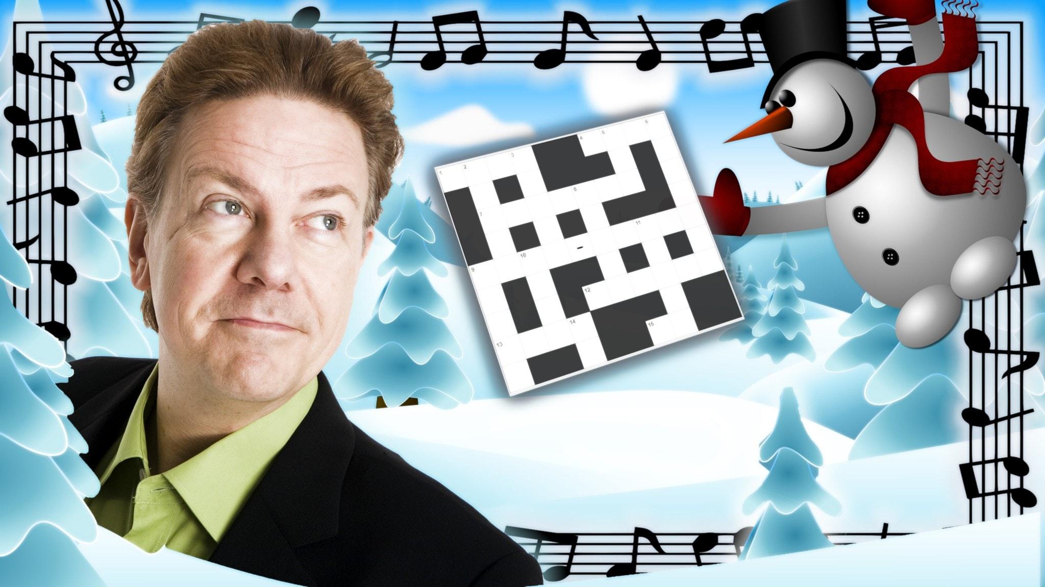 Melodikrysset vecka 4 – ett musikaliskt korsord med Anders Eldeman
