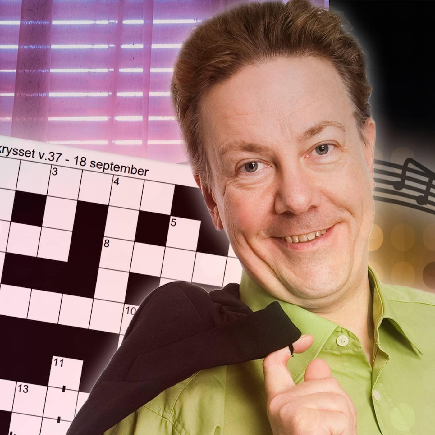 Melodikrysset vecka 37 – ett musikaliskt korsord med Anders Eldeman