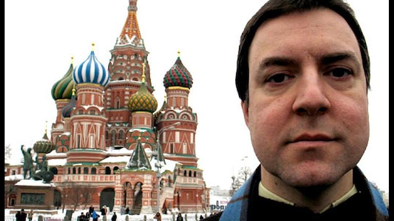 Шведский корреспондент в Москве