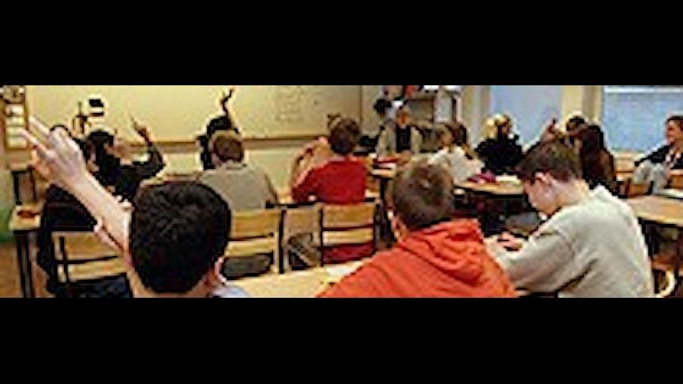 Arkivbild: Segregationen i skolan.