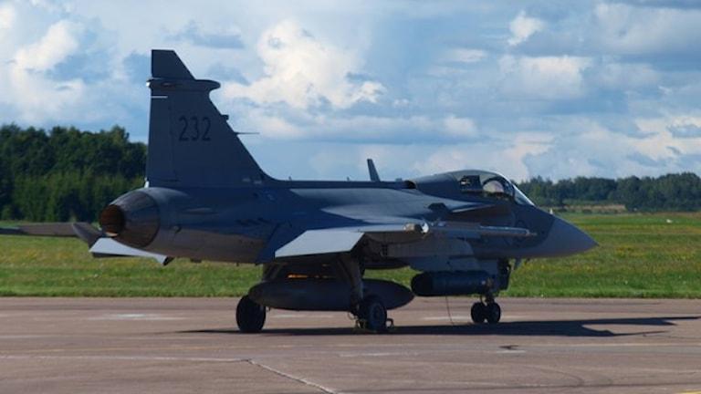 Крупные учения шведских ВВС