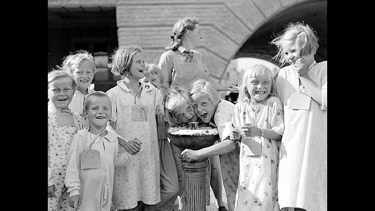 В 1941-44 году Швеция приняла 72 000 финских детей. Фото: Upplandsmuseet/flickr.com