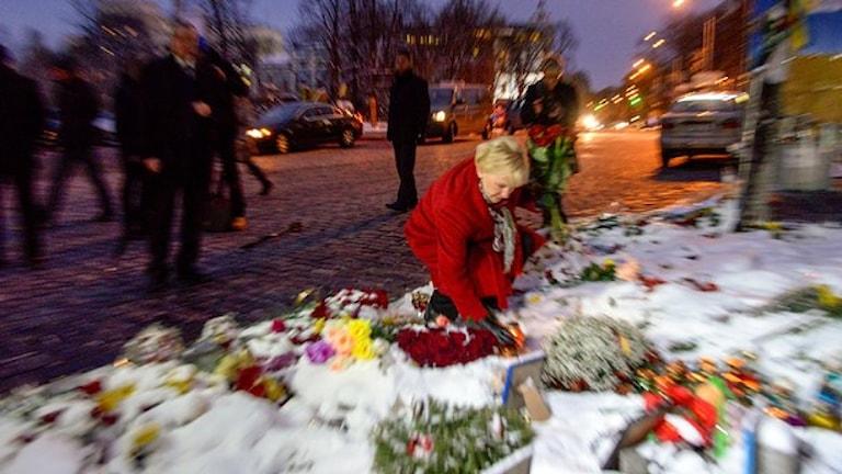 Глава шведского МИД в Киеве