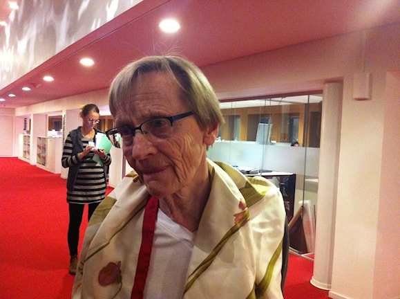 Карин Нюман, дочь Астрид Линдгрен. Фото: РШ