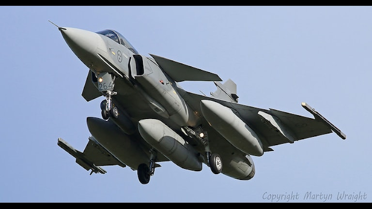 Saab JAS 39 Gripen. Фото: flickr.com