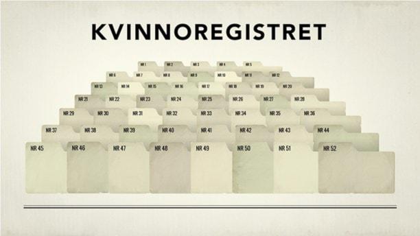 Незаконная регистрация пострадавших женщин шведской полицией