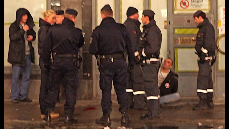 После драки, сценка из стокгольмской жизни. Фото: Bengt Nyman/Flickr