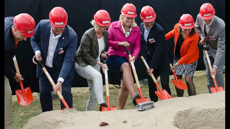 """""""Первые лопаты"""" выбраны еще в августе. Фото: flickr.com"""