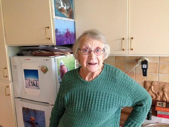 90-летняя шведка о своей жизни