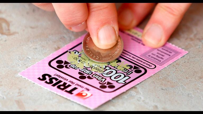Лотерейный билет. Фото:Svenska spel/Flickr