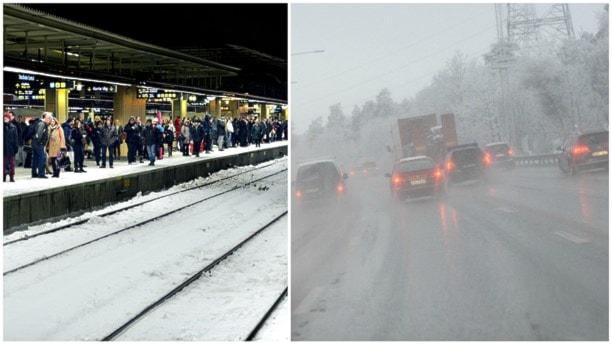 Аварии на шведских дорогах