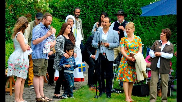 Церемония вручения шведских паспортов в муниципалитете Бьюрлёв. Фото:Per Egevad/Flickr