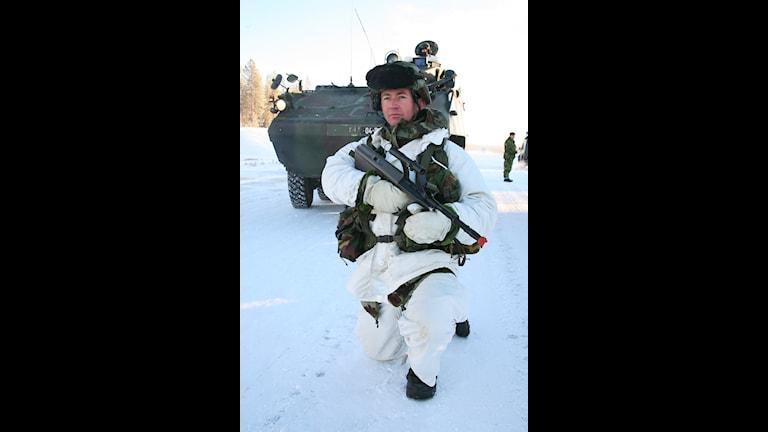Ирландский солдат на учениях в Швеции в рамках Nordic Battlegroup. Фото: Irish Defence Forces/Flickr
