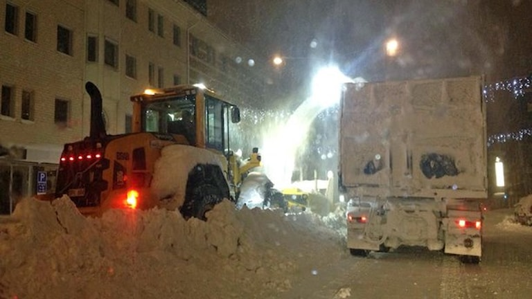 Рекорд снега за 49 лет в Швеции